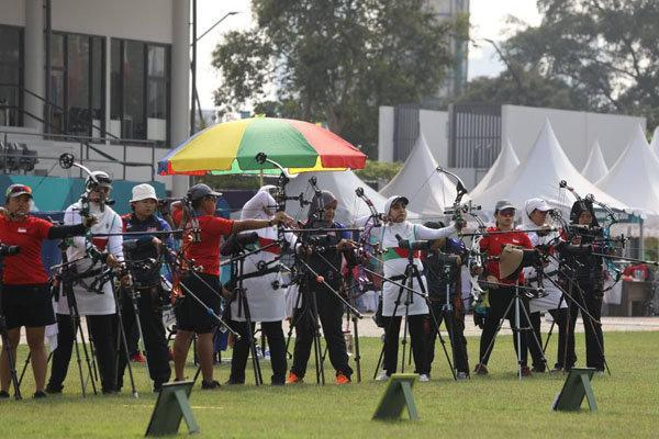 مسابقات مقدماتی کامپوند بانوان برگزار گردید