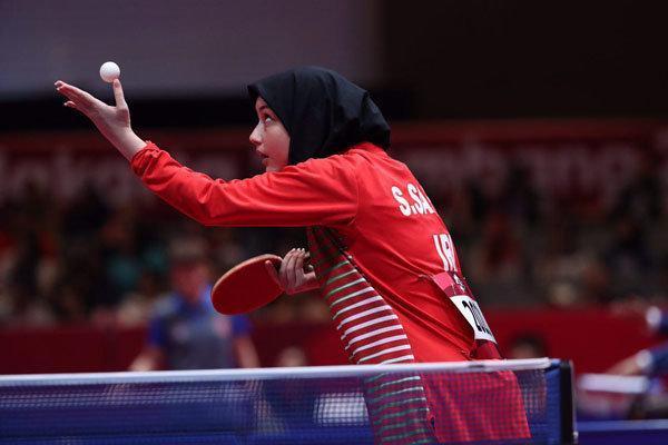 پیروزی قاطع پینگ پنگ بازان ایران مقابل قطر