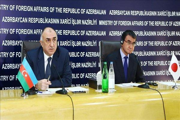 محورهای کنفرانس خبری مشترک وزرای خارجه ژاپن و جمهوری آذربایجان
