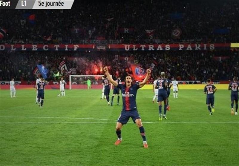 فوتبال دنیا، پاری سن ژرمن برد و رکورد صد درصد پیروزی را حفظ کرد