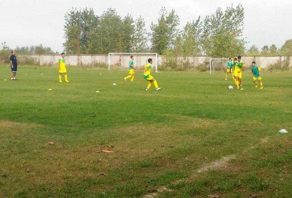 دوره استعدادیابی تیم ملی فوتبال زیر14سال ایران در لنگرود شروع شد