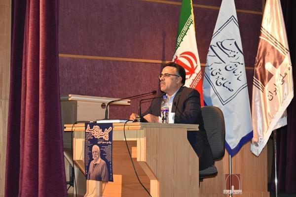 مراسم نکوداشت مسعود گلزاری در موزه ملی ایران برگزار گردید