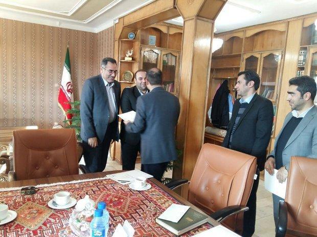 حامد عباسپور به عنوان رئیس اداره دامپزشکی شهرستان اهر معرفی گردید