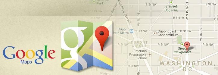 دانلود Google Maps 10.7.0. برنامه مشاهده نقشه های گوگل برای اندروید