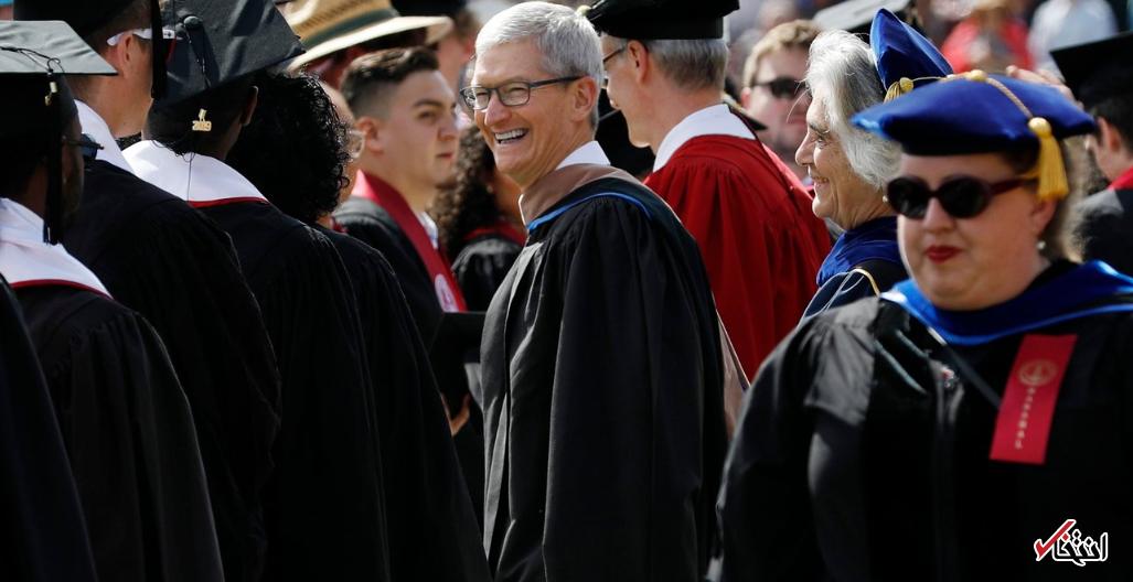 5 نکته مهم از دید مدیرعامل شرکت اپل برای موفقیت فارغ التحصیلان سال 2019