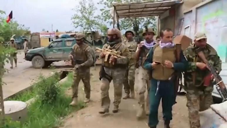 حمله نیروهای طالبان به شهر قندوز افغانستان