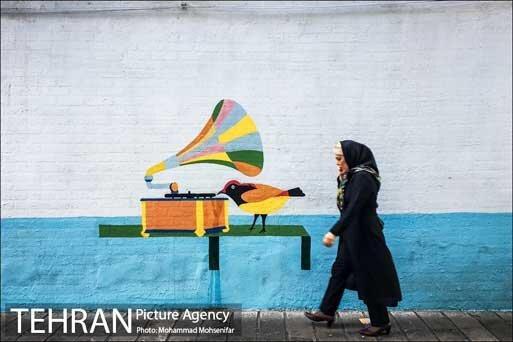 ساماندهی دیوارنگاری های شهر تهران در بازه زمانی 5 ساله