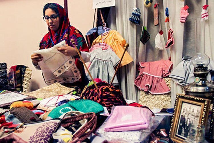گرد فراموشی بر بازارچه های خوداشتغالی بانوان مازندران