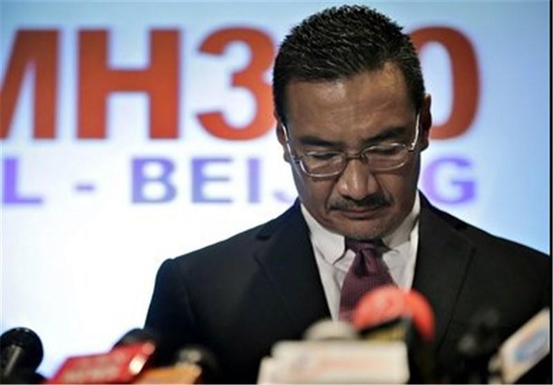 کنفرانس خبری وزیر راه مالزی درپی سقوط دومین هواپیمای مسافربری این کشور