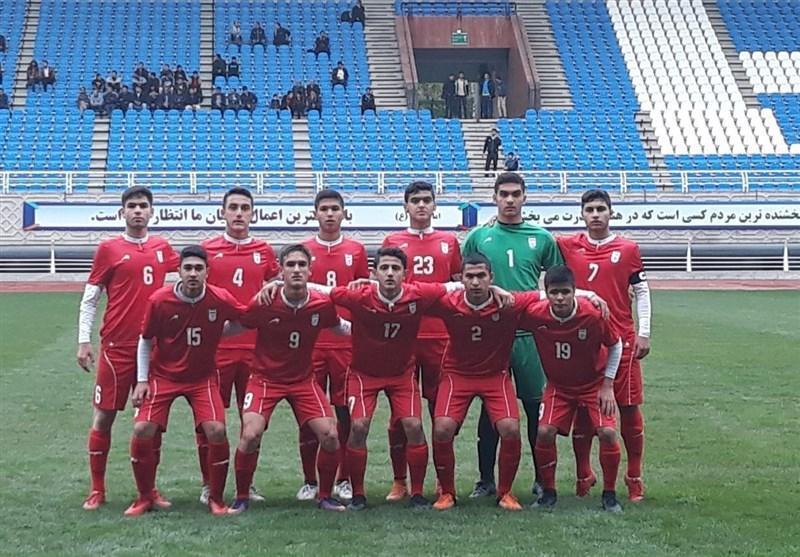 همگروهی نوجوانان فوتبال ایران با ویتنام، هند و اندونزی