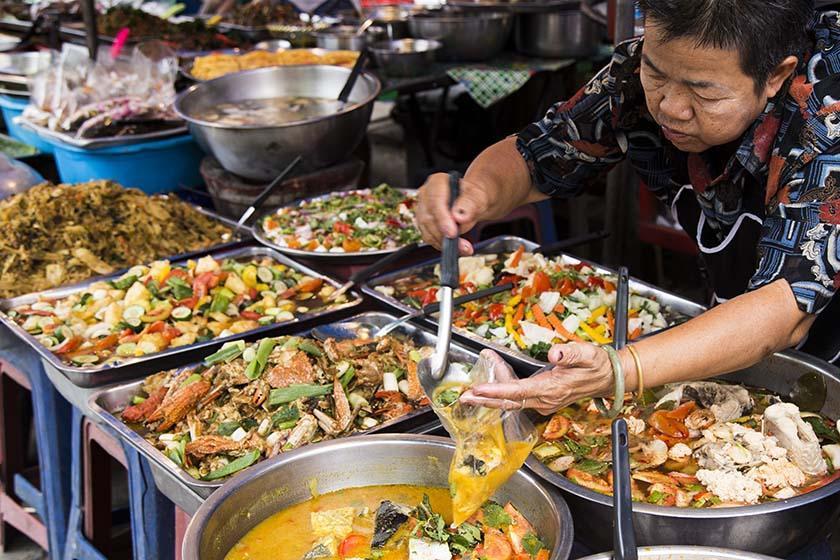 غذاهای خیابانی چیانگ مای، طعم جدید غذاهای تایلندی