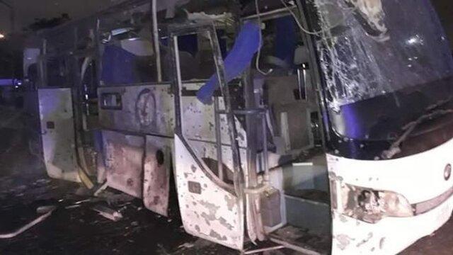 اتوبوس گردشگران ویتنامی در مصر هدف انفجار بمب نهاده شد