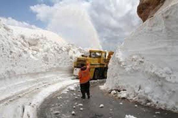 کدام گردنه 7 ماه از سال 5 متر برف دارد!