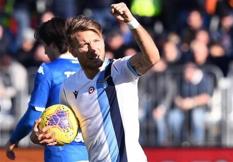 جام حذفی ایتالیا، لاتزیو با رجحان قاطعانه صعود کرد