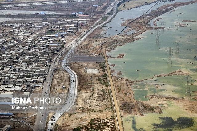 پیشروی رودخانه کرخه به سمت 7 روستا