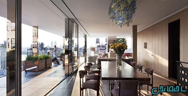 طراحی دکوراسیون آپارتمان لوکس با کمترین هزینه