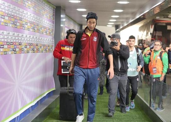پایتختی ها به ورزشگاه آزادی رسیدند