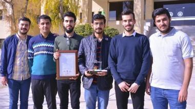 گروه بتن دانشگاه صنعتی اصفهان مقام نخست مسابقات نمونه معکب بتنی را کسب کرد