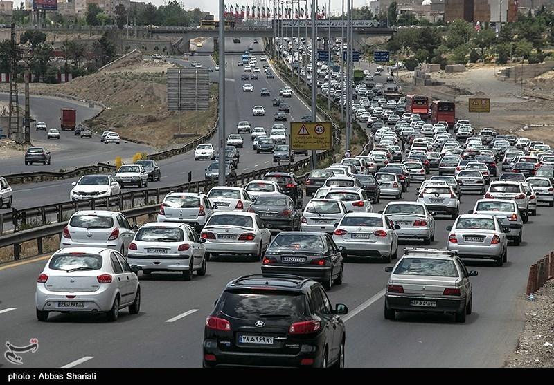 آزادراه تهران- کرج پرترددترین آزادراه در غرب آسیا است
