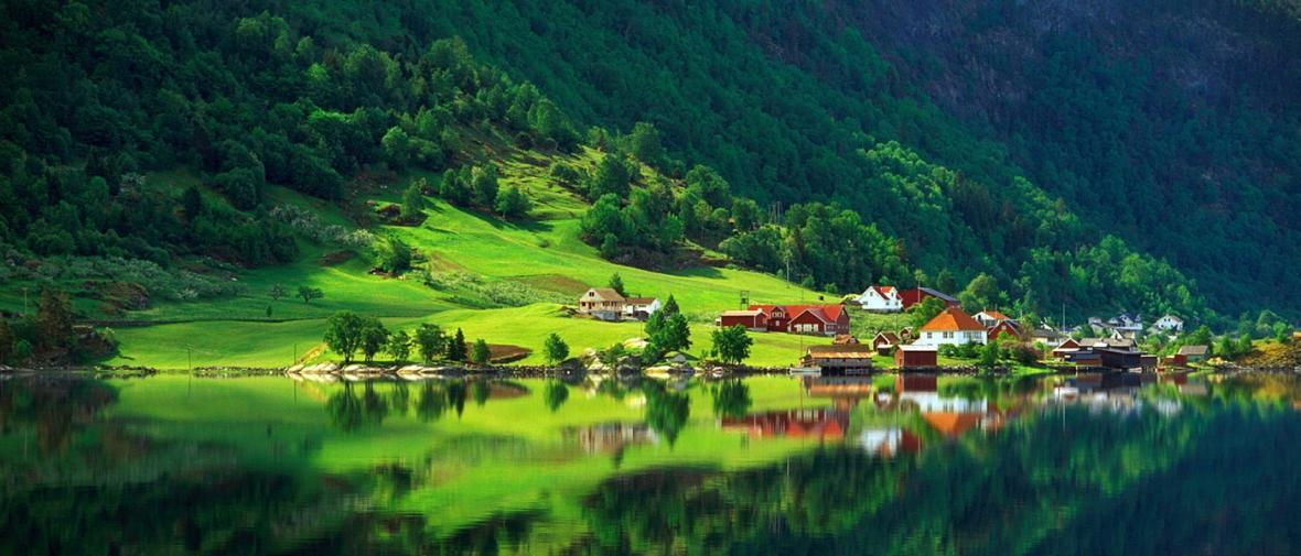 نگاهی به زیبایی نهفته در دهکده ها و شهرهای کوچک
