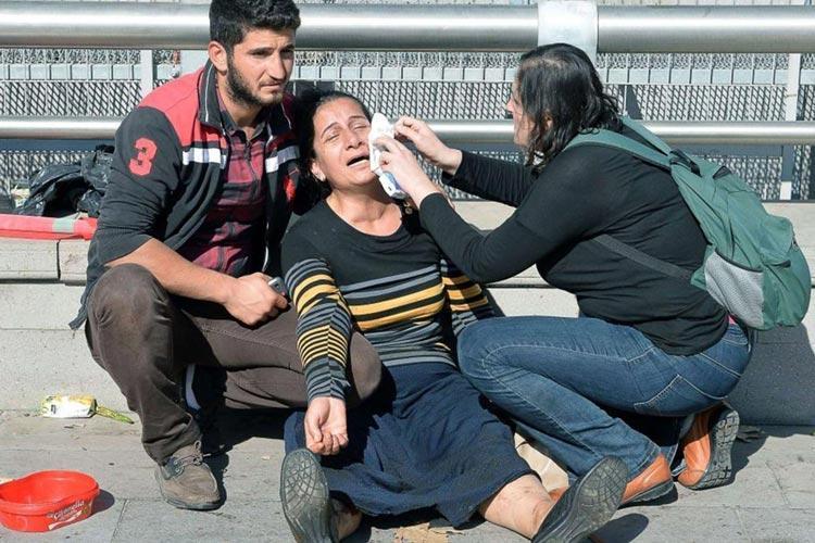 انفجار بمب در ایستگاه قطار آنکار 30 کشته برجای گذاشت