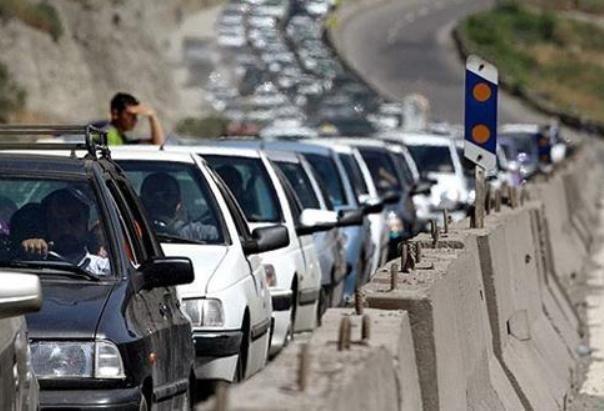 ترافیک سنگین در محورهای قم - تهران، آخرین محدودیت تردد