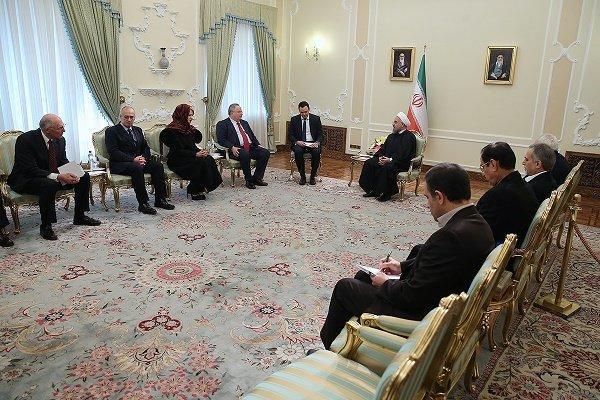 اجرای برجام سطح همکاریهای ایران و اروپا را به نقطه مطلوب می رساند