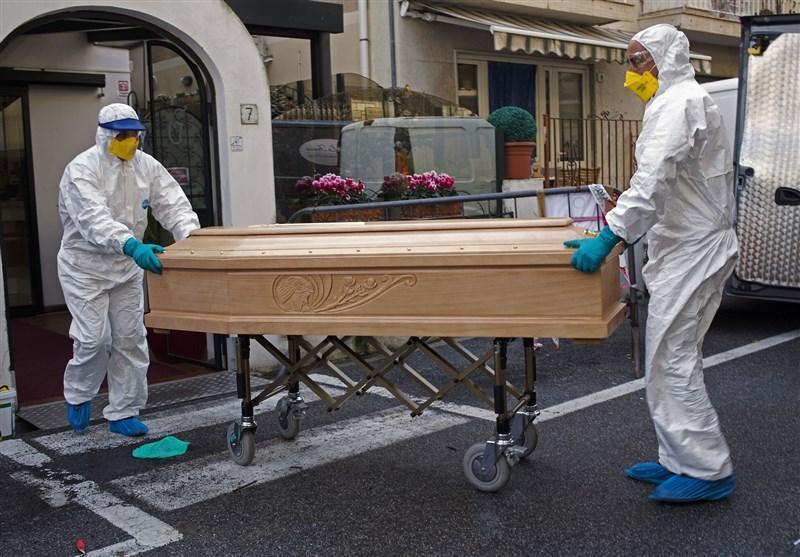 مرگ 793 بیمار مبتلا به کرونا در ایتالیا طی 24 ساعت گذشته