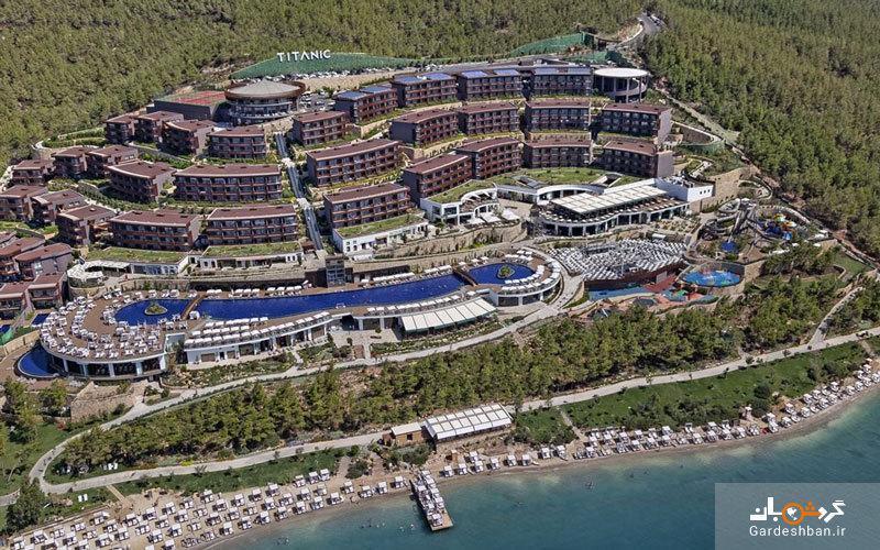 هتل ساحلی تایتانیک دلوکس (Titanic Deluxe Bodrum) در بدروم