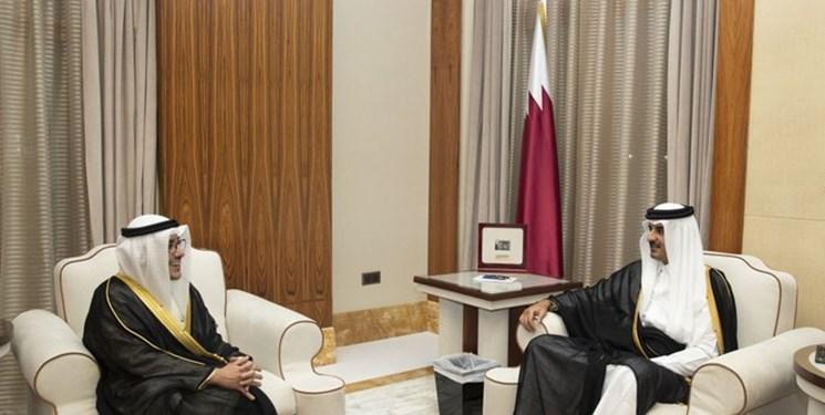 پیغام امیر کویت به همتای قطری