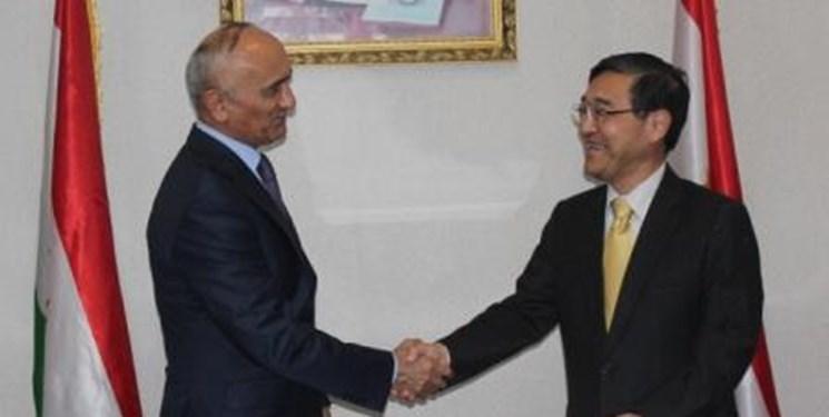 دیدار مقامات ارشد ژاپن و تاجیکستان در دوشنبه