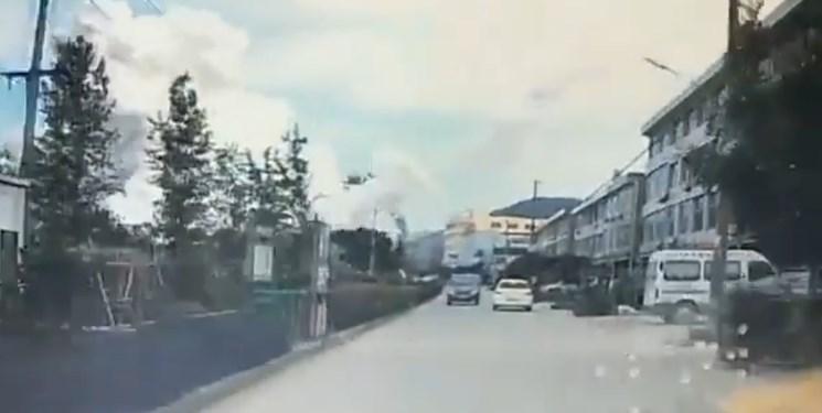 فیلم ، انفجار تانکر نفتی در چین 4 کشته و 15 زخمی به جا گذاشت