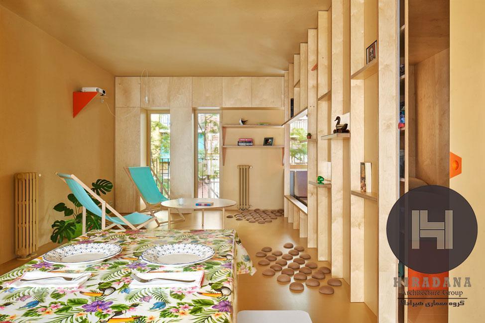 بازسازی منزل هوسوس در مادرید اسپانیا