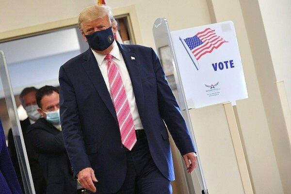 ترامپ: به شخصی به نام ترامپ رأی دادم!