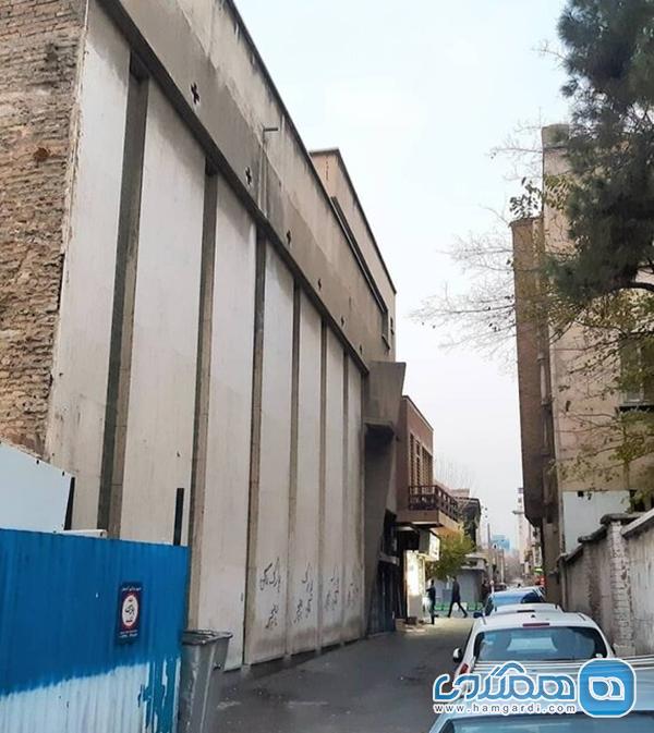 لودرها به سراغ همسایه هتل نادری تهران رفتند