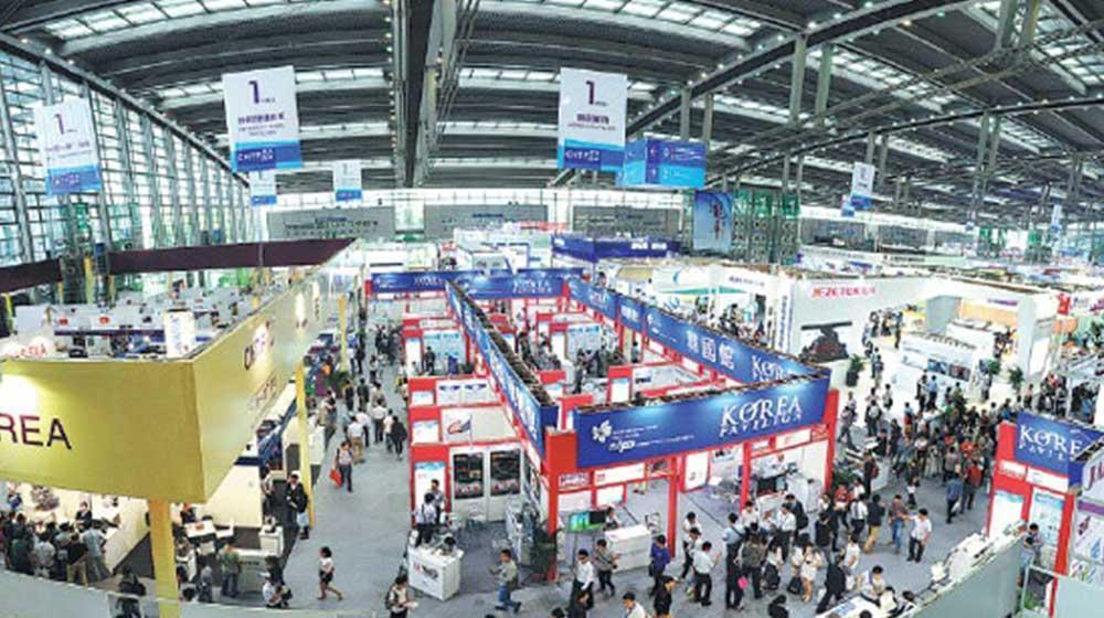پایگاه صادراتی معاونت علمی در عظیم ترین نمایشگاه تجاری چین حضور یافت