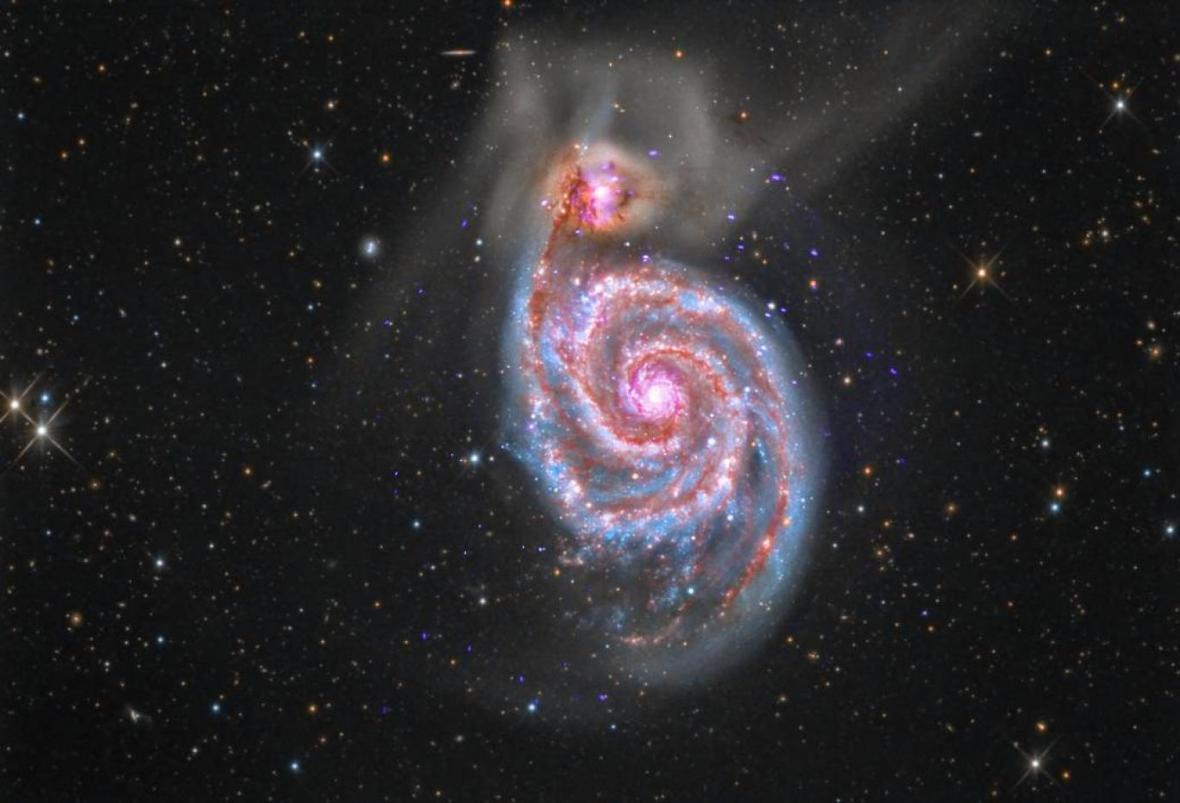 کهکشان اسرارآمیزی که به راه شیری کوبید