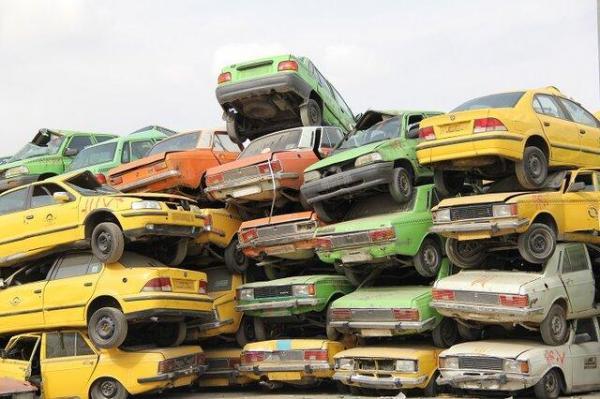 ارائه آیین نامه اجرایی معین سن فرسودگی خودروها به دولت