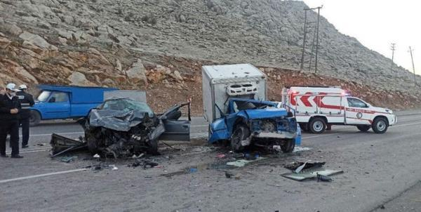 تصادف مرگبار در جاده روانسر 6 کشته و زخمی بر جا گذاشت