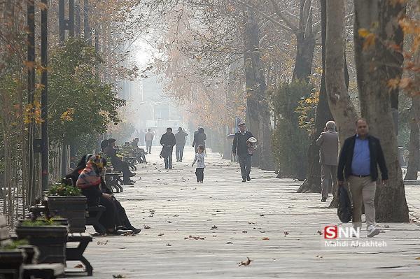 شاخص بالای 150 واحدی در 19 ایستگاه سنجش آلودگی هوای تهران