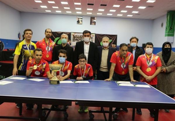 احسانی مهر: در حمایت از بازیکنان تنیس روی میز جانباز و معلول جدی هستیم