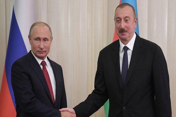 پوتین و علی اف درباره مرکز دیده بانی ترکیه و روسیه رایزنی کردند