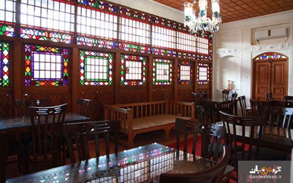 هتل سنتی خانه بهروزی؛ یکی از بناهای قاجاری و زیبای قزوین، عکس