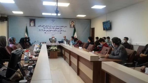 خبرنگاران 34 دانش آموز برتر المپیادهای علمی کشور در البرز تجلیل شدند