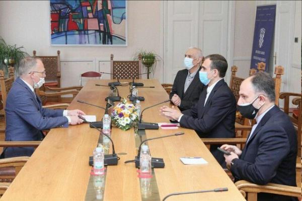 ملاقات سفیر ایران در زاگرب با رئیس گروه دوستی پارلمانی کرواسی با ایران