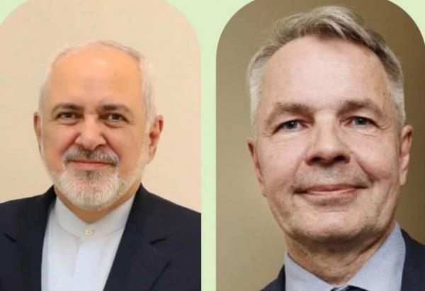 خبرنگاران وزیران خارجه ایران و فنلاند درباره همکاری های دوجانبه گفت وگو کردند