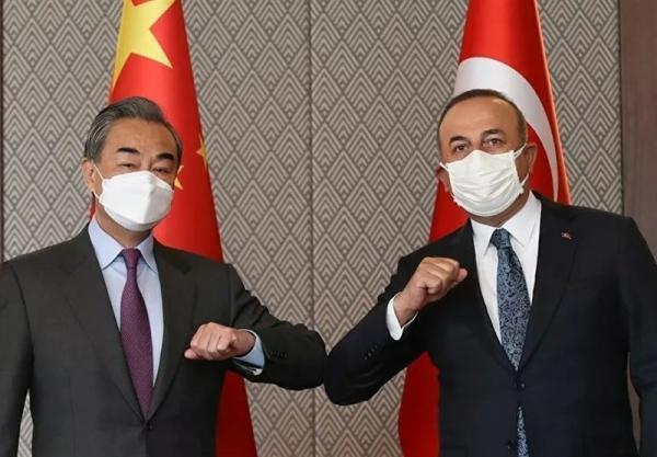 ملاقات وزرای خارجه چین و ترکیه