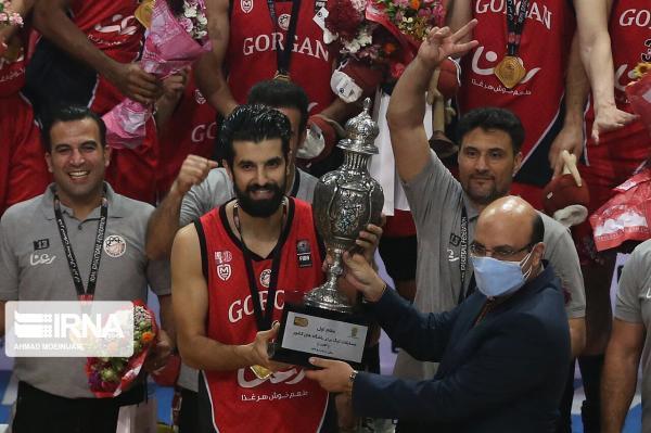 خبرنگاران جمشیدی پس از قهرمانی در لیگ بسکتبال: شانس سراغ سخت کوش ها می رود