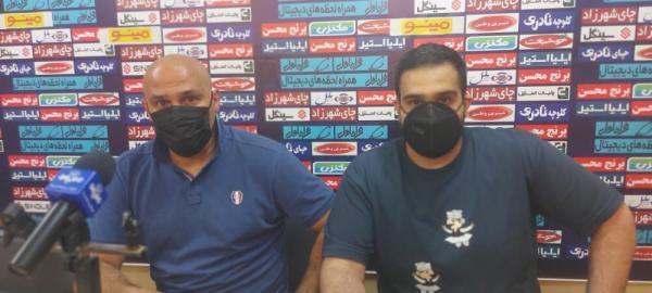 خبرنگاران منصوریان:خوش شانس بودیم در آبادان پیروز شدیم