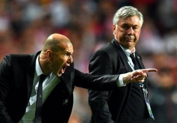 آغاز مذاکرات رئال مادرید با آنچلوتی برای جانشینی زیدان